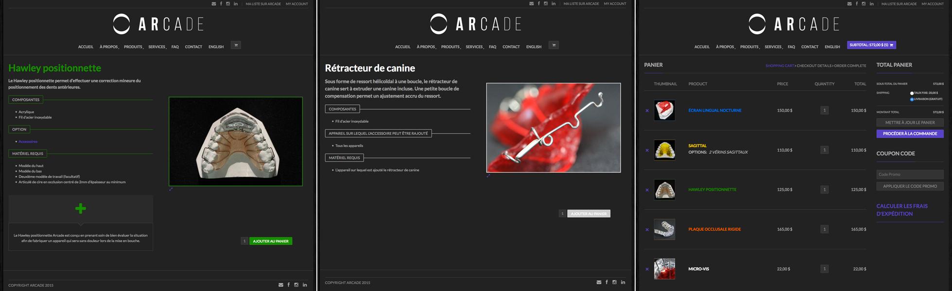 Agitatrice de solutions - Projet Arcade - Web - Vente en ligne - Fiches produits