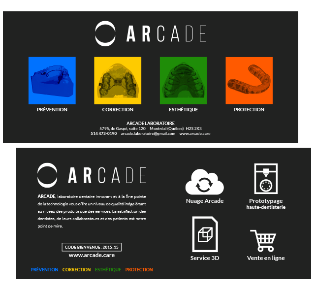 Agitatrice de solutions - Projet Arcade - Imprimé - Document corporatif