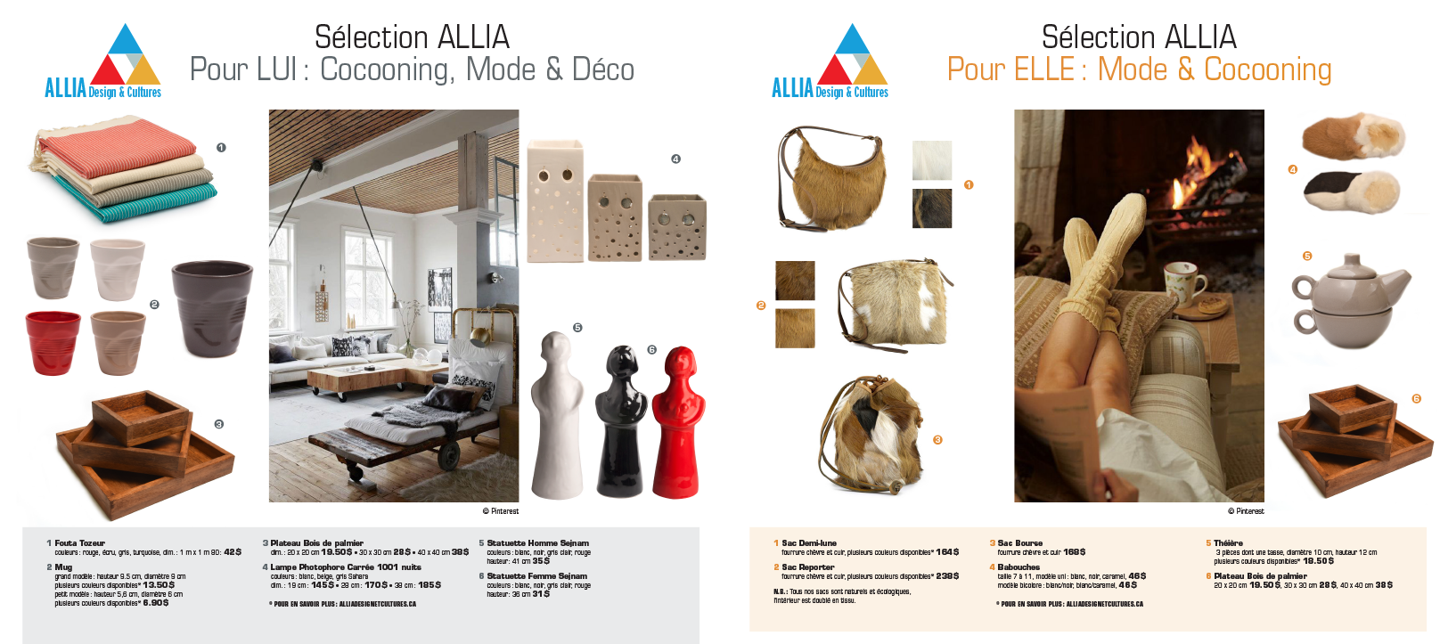 Agitatrice de solutions - Projet Allia Design & Cultures - Branding - Web - Planches tendances - Presse Magazine