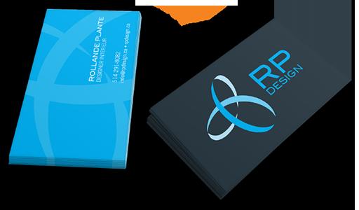 Agitatrice de solutions - Projet RP Design - Branding - Communication - Imprimé - Carte d'affaires