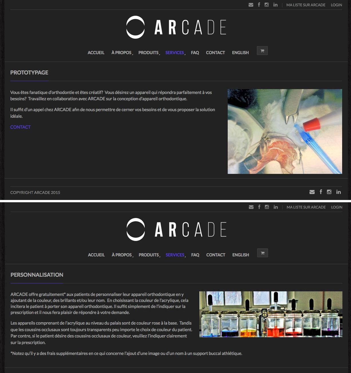 Agitatrice de solutions - Projet Arcade - Web - Vente en ligne - Services