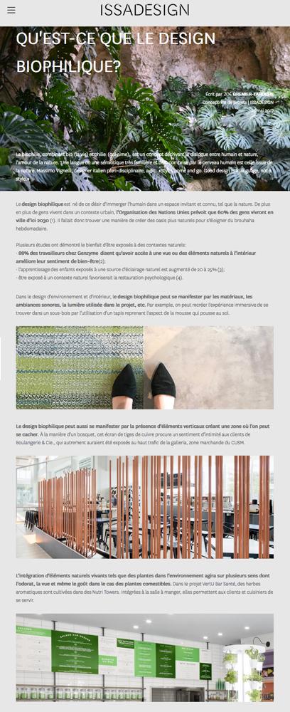 Agitatrice de solutions - Projet Issa Design - Branding - Communication - Stratégie éditoriale - Blog